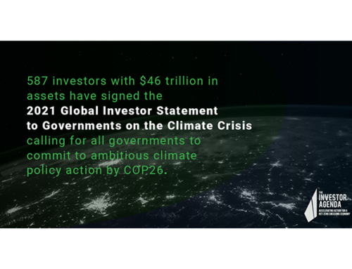 Tribe signatory to the 2021 Global Investor Statement to Governments on the Climate Crisis